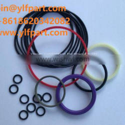 Excavator parts Case CB140 CB200 CB375 jack hammer rubber o-ring kit CB370 CB620 CB1150 CB1450 repair seal kit