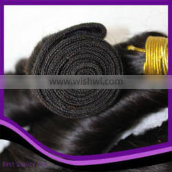 Classical Natural Color Body Wave Brazilian Virgin Hair Weave Machine Weft