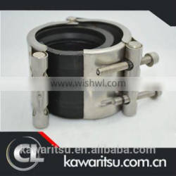 stainless pipe saddle clamp