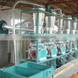 20tons complete sets of flour mill