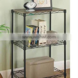 3 layer home furniture wire racking,wire shelving