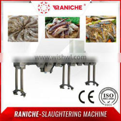 Over 20 years manufacturer and Focusing on drumstick and frozen shrimp Automatic weight grader