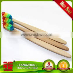 BPA Free Wholesale Natural Ecological Bamboo Tooth brush