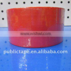 2inch*10yards red cloth duct tape adhesive tape