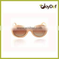 The very popular wood round attractive wholesale high quality cheap natural price stylish design retro sunglasses