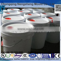 Factory direct sale Plastic Pail - 6 Gallon,with lid and metal handle. packging solution for oil paint, latex paintr