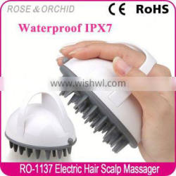 Easy use scalp massager head for woman
