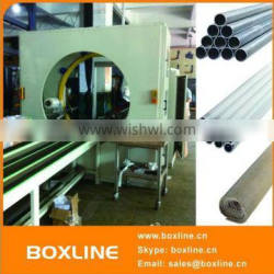 Automatic horizontal aluminum profile wrapping machine