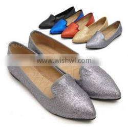 hot sale fashion high quality popular flat sexy ladies shoes ,new design hot sale woman shoe