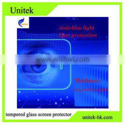 0.21mm For iphone tempered glass film anti blue light tempered glass screen protector