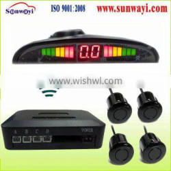 wireless led VFD front rear wireless parking sensor