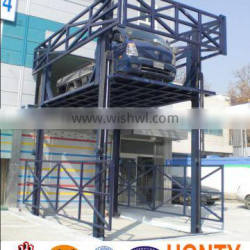 Supply CE on ground lead rail lift outdoor lead rail lift