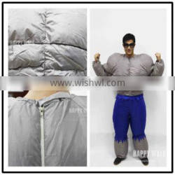 EN71 good quality inflatable costume muscle man costume cosplay costume can blower