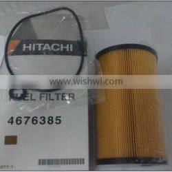 Excavator spare part fuel filter 4676385/8980219360 for ZX870-3/ZX250LC-3