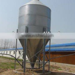 Huabo poultry feed bin for chicken farm