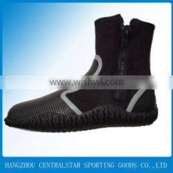 2015 hot diving material turquoise diving suit boots