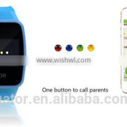 Global Mini GPS Watch Tracker Caref With 4 Days Standby Time