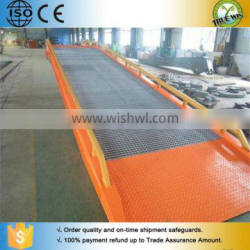 Factory in Shandong China Best sell lorry loading ramp