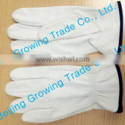 Custom Leather Bus Driving Gloves