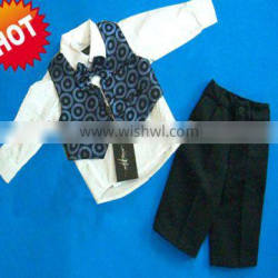 4pcs classical and best selling boy suit sets