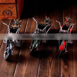 Metal classic handmade motorcycle model for cafe bar decoration