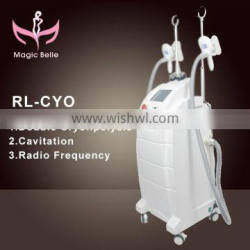 Fat Melting Best Discounts Dual Cold Body Sculpting Fat Reduction Fat Freezing Slimming 4 Handle Cryolipolysis Machine