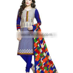 south india cotton dress material