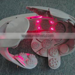 Head massager with Laser Therapeutic light