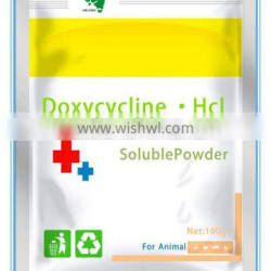 Doxycycline soluble powder drugs treatment for mastitis