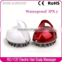 2016 electrical massage hair brush for head relaxing