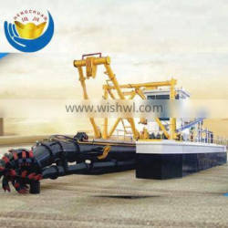 Hydraulic Suction Cutter River Cleaning Boat
