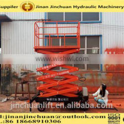 1.35~6m, 0.5 ton hydraulic lifting /forklift lifting /for wheelchair lift platform