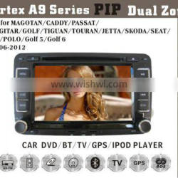 7inch HD 1080P BT TV GPS IPOD Fit for VW passat golf polo caddy skoda jetta car dvd gps wifi