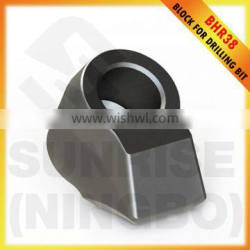 BHR38 Rotary auger bits holder cutter tool block