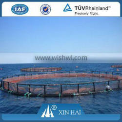 Top quality Nylon 210D/36ply 7cm knotted fishing net for floating cage for fishery, Aquaculture Net Cage Floating Cage