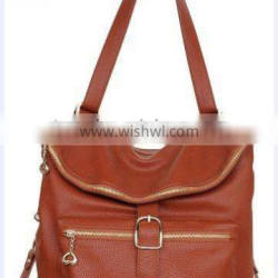 2012 Newest fashion lady leather handbag organizer in good quality and factory price