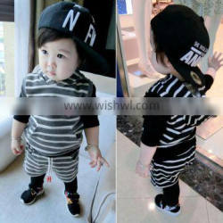 New Arrival Children Clothes Sets One Piece Print Kids Boys Clothing For Wholesale