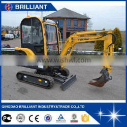 Chinese Cheap Mini 1.5 ton Excavator For Sale Price (YC18-8)
