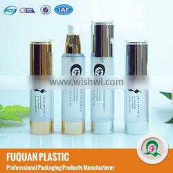 AS material and skin care cream use cosmetic vaccum pump bottle