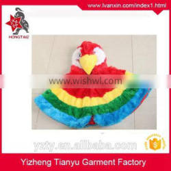Factory Wholesale Owl Type Plush Mascot Winter Cape For Christmas