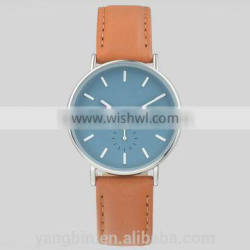 2015 best seller double big face ladies fashion watches trendy with multi-color