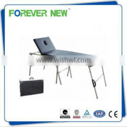 YXZ-1A hospital Stainless Steel patient folding patient exam bed