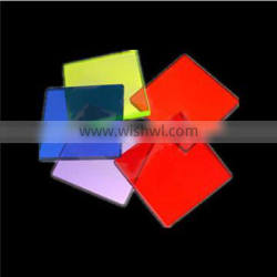 China supplier color glass filter g4