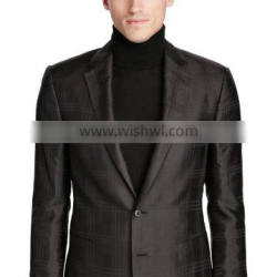 High quality Business Casual Men Suits Formal Blazer Neck Designs