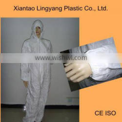 Disposable Microporous Film Laminated SF Coverall