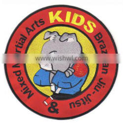 Custom iron-on embroidered patches for kids