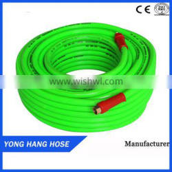 YONG HANG High Pressure Flexible Apple Green 8.5mm 5Layers Spray Hose For Agriculture