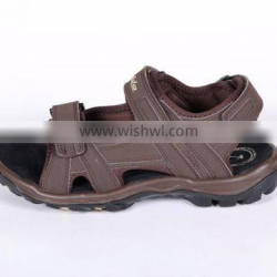 PU sythetic leather high quality sport sandal shoes for men