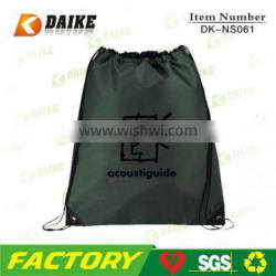 High Quality Eco Custom Ripstop Nylon Drawstring Sport Bag