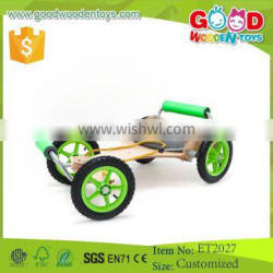 2015 New Hot Design and Handmade Wooden 4 Wheels Car Baby Toys